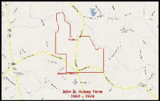Map:  John D. Hulsey Farm